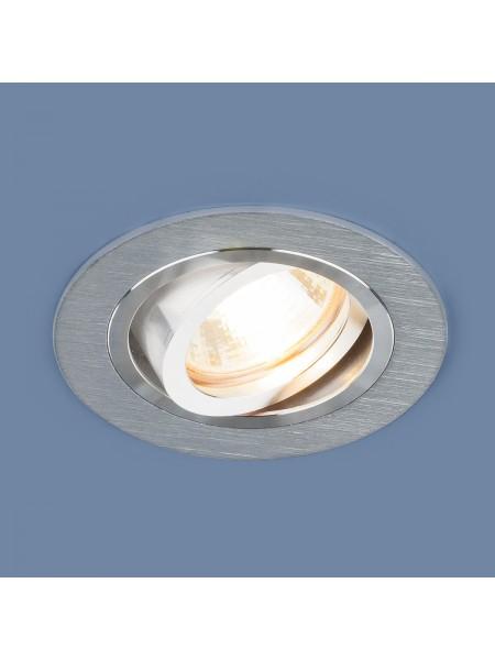Алюминиевый точечный светильник 1061/1 MR16 SL серебро Elektrostandard