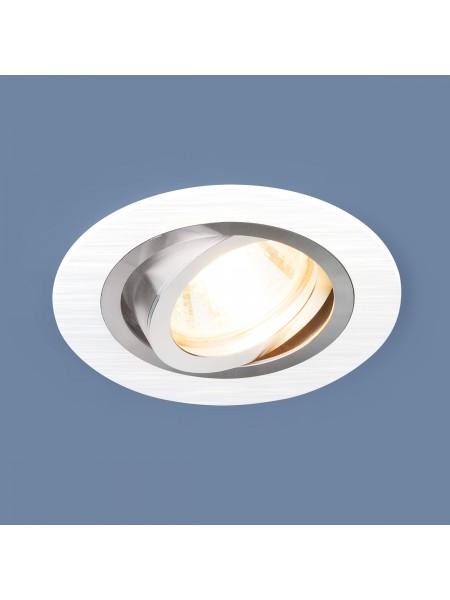 Алюминиевый точечный светильник 1061/1 MR16 WH белый Elektrostandard