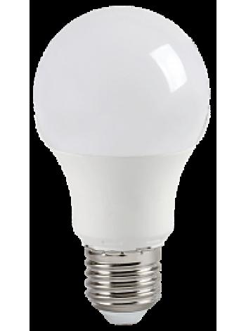 Лампа светодиодная 9Вт Е27 A60 3000K 810Лм матовая 220В грушевидная ECO LLE-A60-9-230-30-E27 IEK