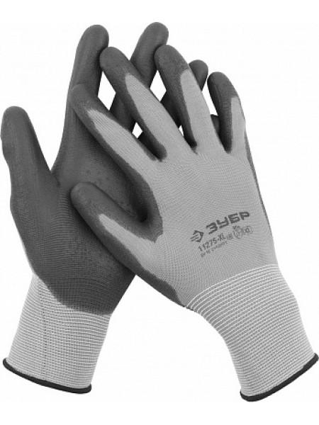 Перчатки для точных работ с полиуретановым покрытием, размер M (8) ЗУБР МАСТЕР 11275-M