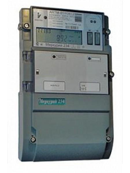 Счетчик электроэнергии трехфазный многотарифный (2 тарифа)Меркурий-234 ARTM-01 POB.G(POBR.G) 5- 60А ,3*230/400 В.оптопорт,GSM,2*RS485 Инкотекс