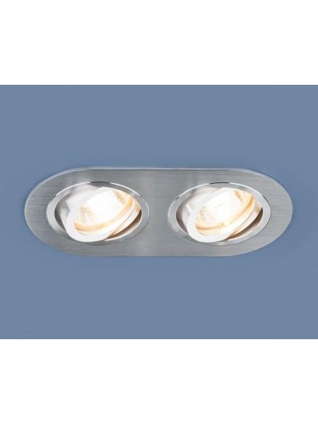Алюминиевый точечный светильник 1061/2 MR16 SL серебро Elektrostandard