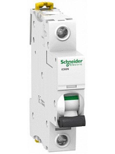 Автоматический выключатель модульный Schneider Electric iC60N 1п 0,5А B 6кA AC (перемен.) (A9F73170)