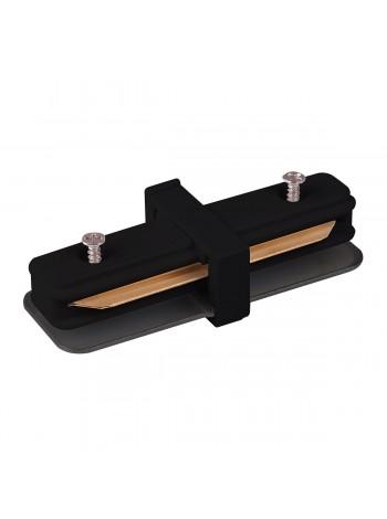 Коннектор прямой для однофазного шинопровода TRC-1-1-I-BK/-WH Elektrostandard (Электростандарт)