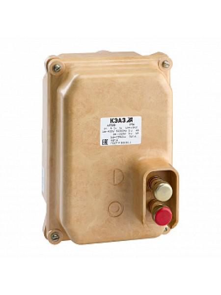 Выключатель автоматический АП50Б-1М2ТД-2,5А-3,5Iн-400AC/220DC-НР230AC/220DC-IP54-У2-КЭАЗ