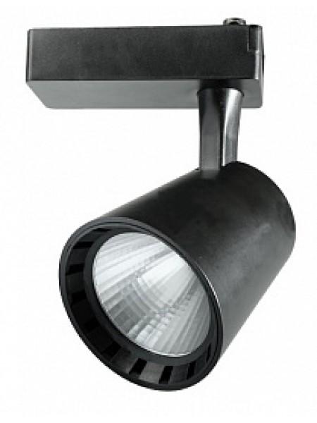 Прожектор светодиодный трековый PTR 0330 30Вт 3000Лм 4000K 24° BL (черный) IP40 .5010628 Jazzway