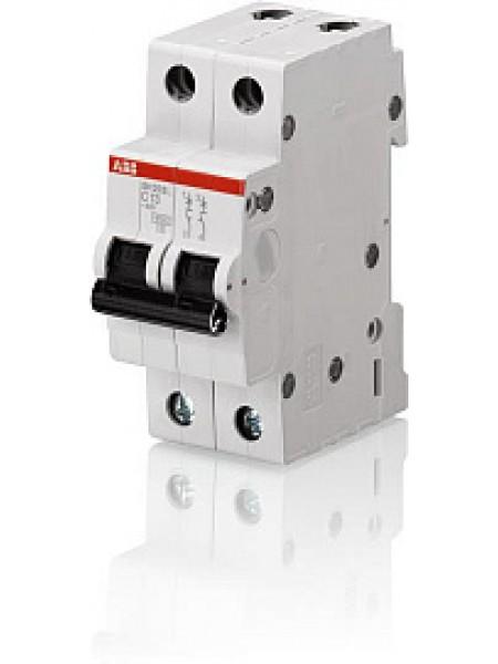 Автоматический выключатель модульный ABB SH202L 2п 6А C 4,5кA AC (перемен.) (2CDS242001R0064)