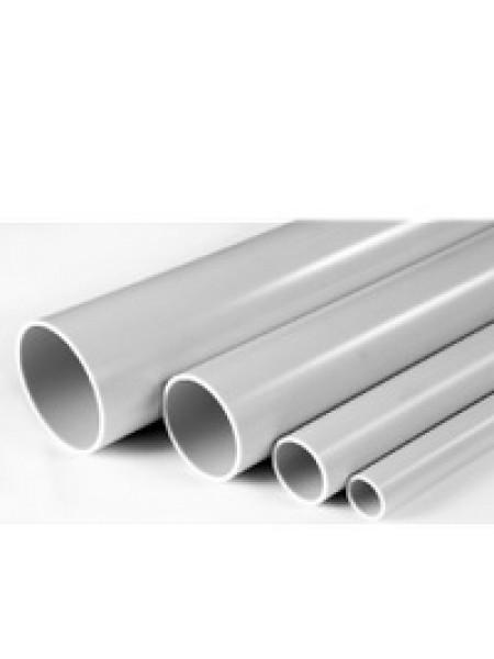Труба ПВХ жесткая 63мм без раструба 3м легкая (уп.21м) 600-063 U-Plast