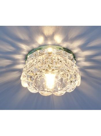 Точечный светильник 6240 G9 CL зеркальный/прозрачный Elektrostandard