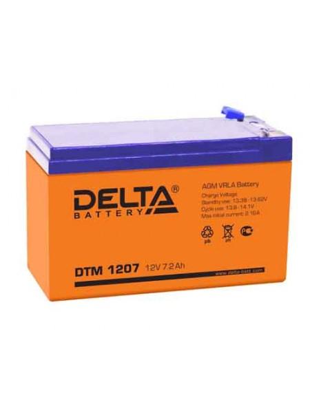 Аккумулятор 12В 7.0Ач (Срок службы 6 лет) DELTA DTM 1207